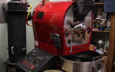 Our Roaster made by Diedrich in Idaho